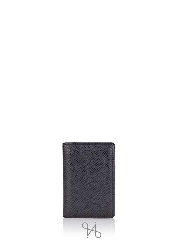 LOUIS VUITTON Taiga Pocket Organizer Noir