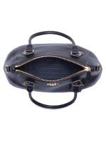 PRADA 1BC032 Vitello Phoenix Leather Tote Nero Black
