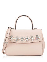 MICHAEL KORS Ava Mini Jewel Top Handle Crossbody Ballet