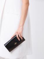 COACH 54022 Signature Slim Envelope Wallet Brown Black