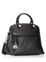 FURLA Piper Extra Mini Dome Satchel Black