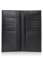 COACH Men 75365 Signature Breast Pocket Wallet Black