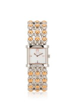 AIGNER A20213 Arezzo MOP Stainless Silver Rosegold
