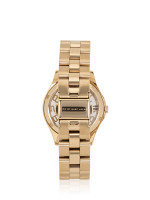 MARC JACOBS MBM3295 Henry Skeleton Stainless Gold Mint