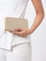 FURLA Classic Leather Zip Wallet Gold