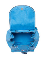 COACH 37621 Pebble Leather Mini Billie Backpack Azure