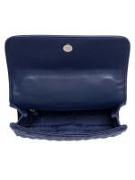 TORY BURCH Fleming Small Convertible Shoulder Bag Royal Navy