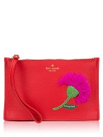 KATE SPADE On Purpose Novelty Mini Pouch Prickly Pear