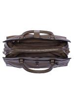COACH 37575 Mercer 30 Grain Leather Satchel Dark Fatigue