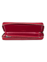 COACH 20976 Varsity Patches Leather Phone Wallet True Red