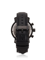 FOSSIL Men BQ1703 Rhett Leather Strap Black