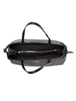 COACH 57842 Signature Drawstring Carryall Black Smoke