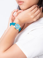 COACH 14502901 Maddy Silicone Strap Teal