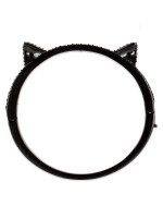 KATE SPADE Jazz Things Up Cat Ear Bangle Black Multi