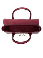 FURLA Metropolis Soft Leather Small Top Handle Satchel Ciliegia