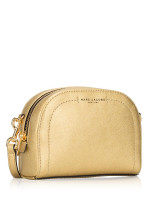 MARC JACOBS Playback Leather Crossbody Gold