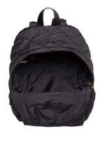 MARC JACOBS Quilted Nylon Backpack Black