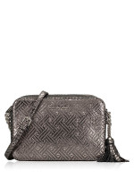 MICHAEL KORS Ginny Medium Camera Bag Silver