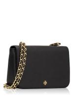 TORY BURCH Emerson Adjustable Chain Shoulder Bag Black