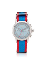 TORY BURCH TRB1018 Chronograph Nylon Blue Red