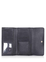 MICHAEL KORS Jet Set Travel Large Trifold Wallet Black