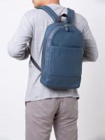 COACH Men 54135 Slim Sport Calf Backpack Dark Denim