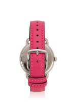 COACH 14502560 Delancey Leather Strap Pink