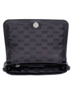 MICHAEL KORS Jet Set Item Medium Saffiano Pouchette Crossbody Black