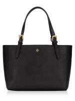 TORY BURCH Emerson Small Buckle Tote Black