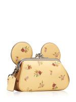 COACH 29360 Minnie Ear Wristlet Vanilla Multi