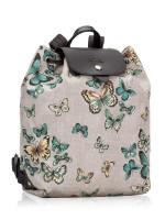 LONGCHAMP Le Pliage Papillon Backpack Grey