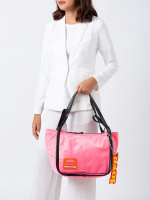 MARC JACOBS Nylon Sport Tote Coral