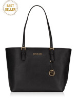 MICHAEL KORS Jet Set Travel Medium Carryall Tote Black