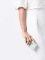 KATE SPADE Cameron Street Card Holder Misty Mint