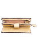 COACH 23553 Signature Medium Wallet Khaki Vanilla