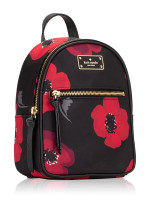 KATE SPADE Wilson Road Poppy Mini Bradley Black Multi