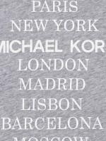 MICHAEL KORS Cities Print T-Shirt Grey Sz M