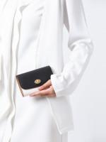 COACH 31650 Colorblock Medium Envelope Wallet Chalk Black Multi