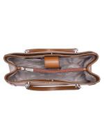 MICHAEL KORS Ellis Stud Leather Large Tote Luggage