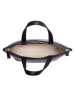 BALLY Leather Medium Convertible Tote Black