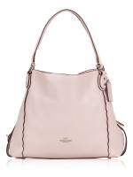 COACH 29800 Scallop Pebbled Edie 31 Ice Pink