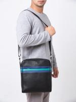 AIGNER Men Neo Shoulder Bag Black