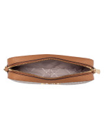 MICHAEL KORS Jet Set Item Signature Large Crossbody Vanilla Acorn