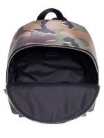 COACH 31452 Wild Camo Medium Charlie Backpack Green Multi