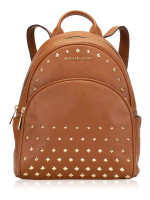 MICHAEL KORS Abbey Studded Leather Medium Backpack Luggage