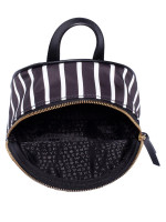 KATE SPADE Wilson Road French Stripe Mini Bradley Backpack Black Multi