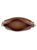 COACH 31400 Pebbled Leather Elle Hobo Light Saddle