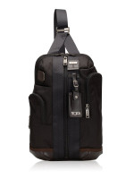 TUMI Men Higgins Sling Pack Black Brown
