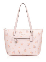 COACH 29859 Floral Bow Taylor Tote Ice Pink