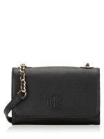 TORY BURCH Bombe Shrunken Shoulder Bag Black